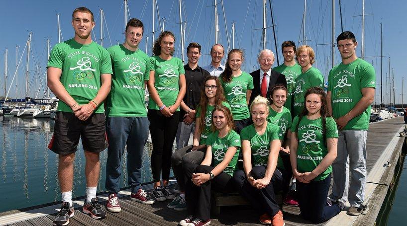 Irish Athletes Set Off For Youth Olympics | Athletics Ireland