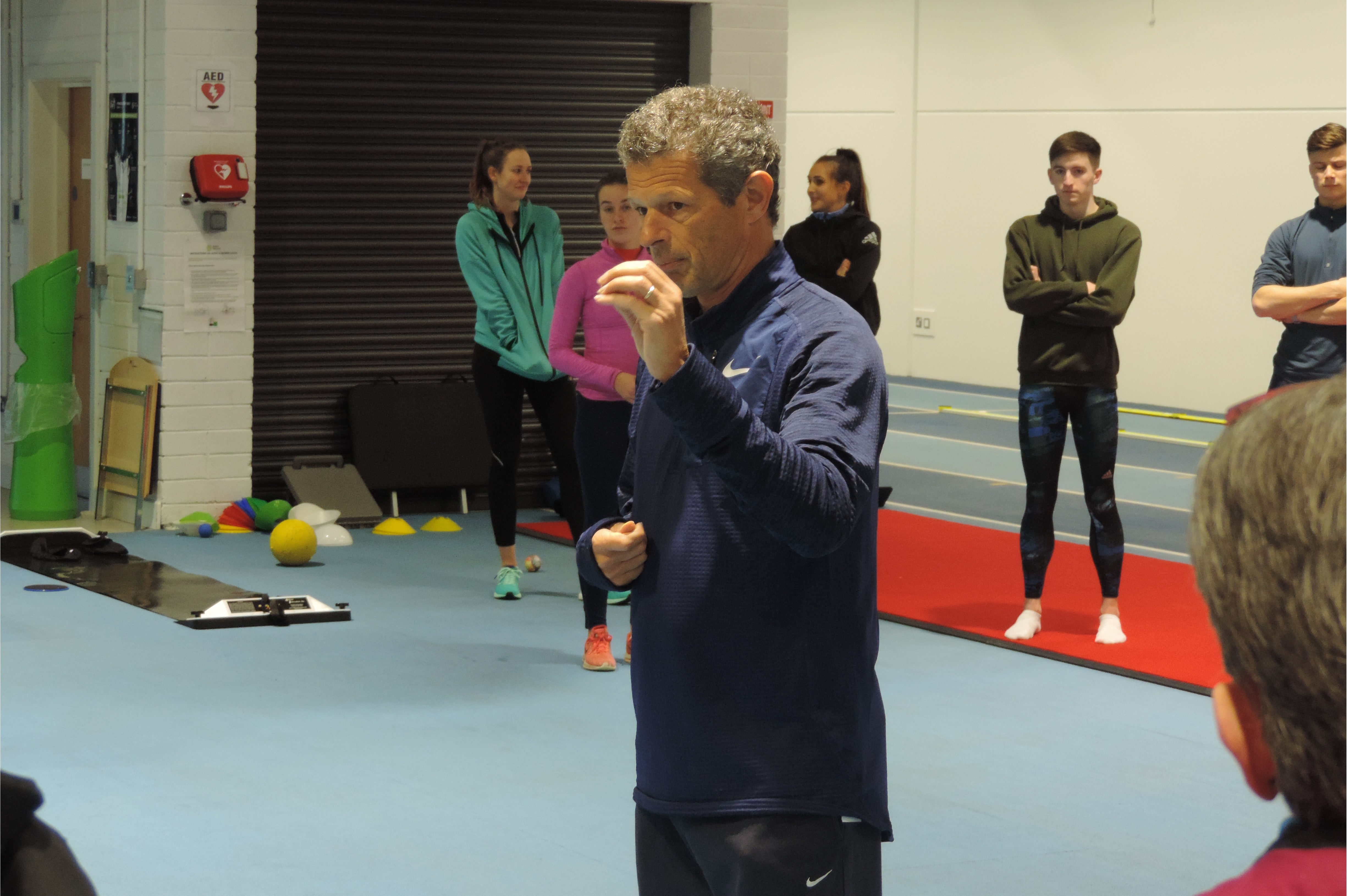 Coach Borlee Encourages Irish Sprints Coaches to Believe in Magic