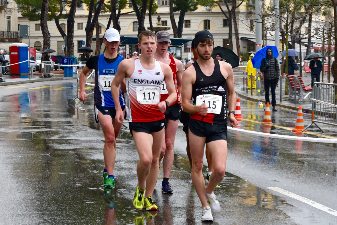 Solid performances from Irish Walkers at Lugano Trophy in Switzerland