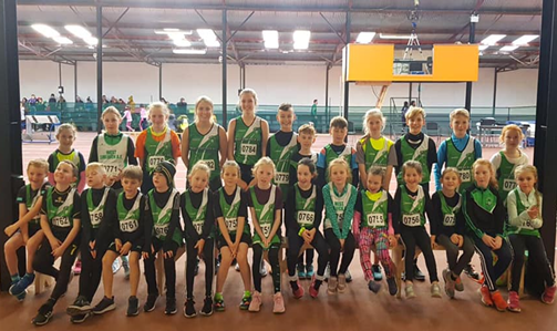 Juvenile West Limerick Members in 2019 at Nenagh Indoors