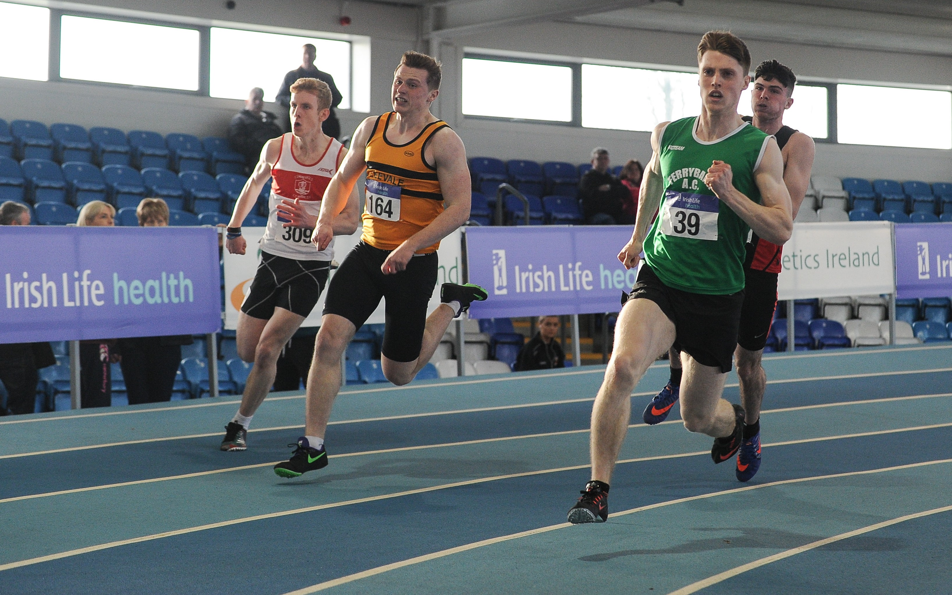 Provisional Entry List for the Indoor Junior & U23's 2018