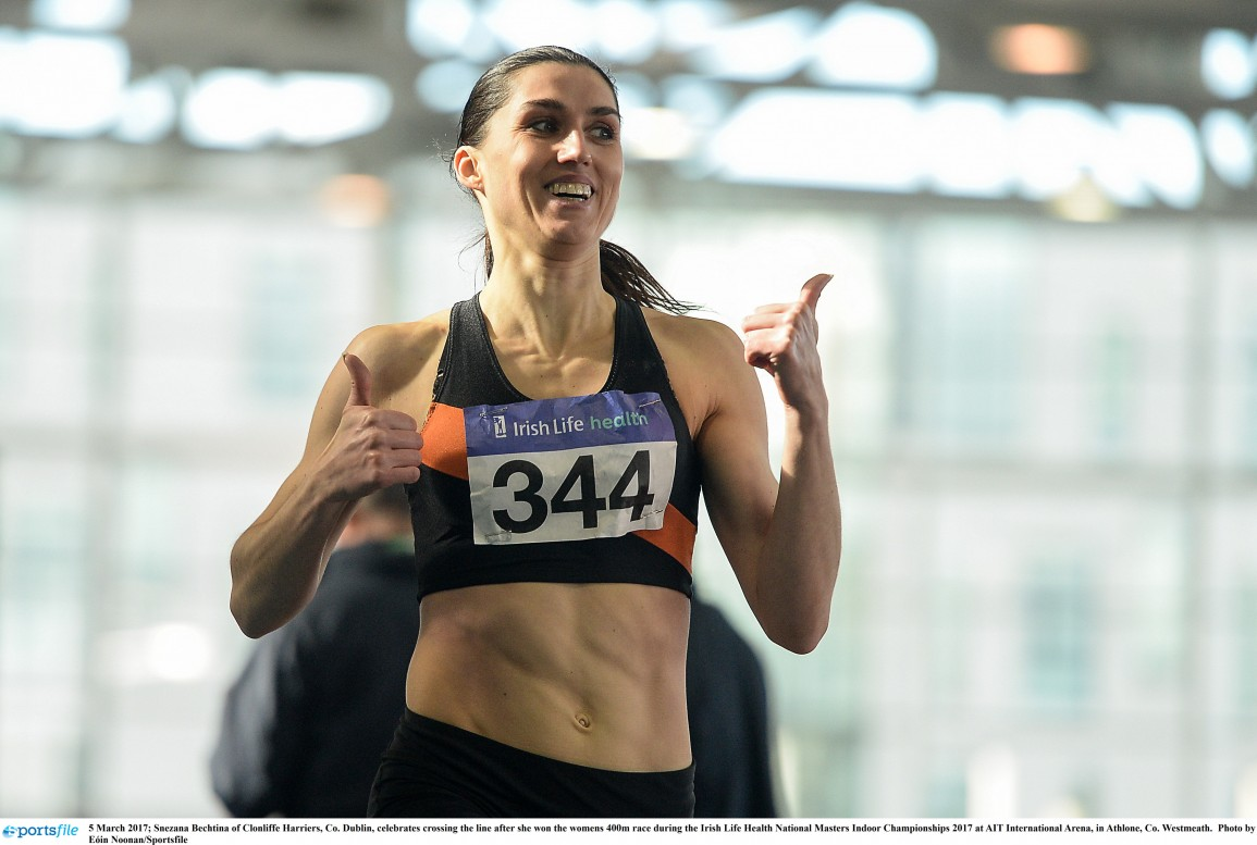Provisional Entry List for the Irish Life Health National Masters Indoors