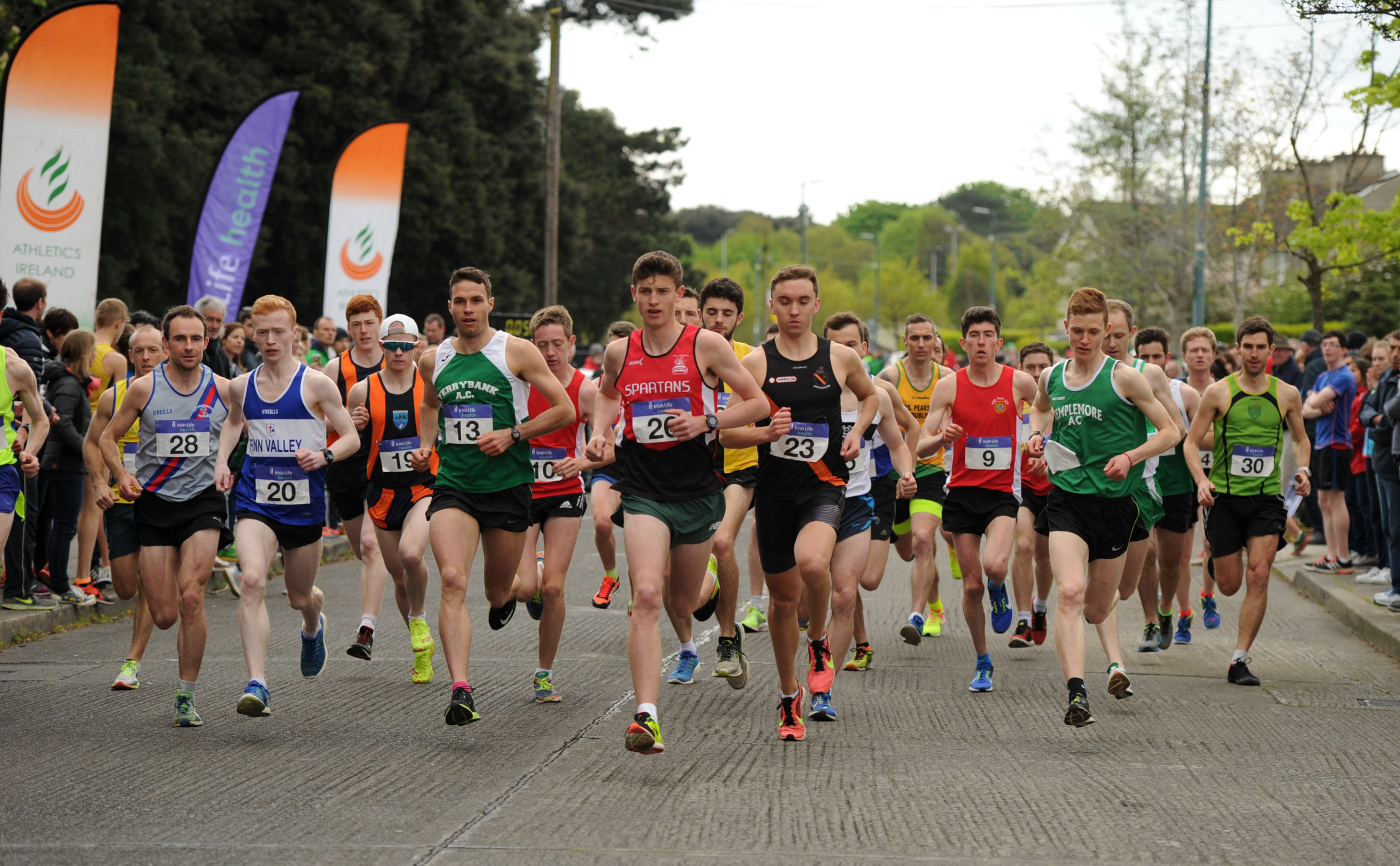 National Road Relay Championships  provisional entry list