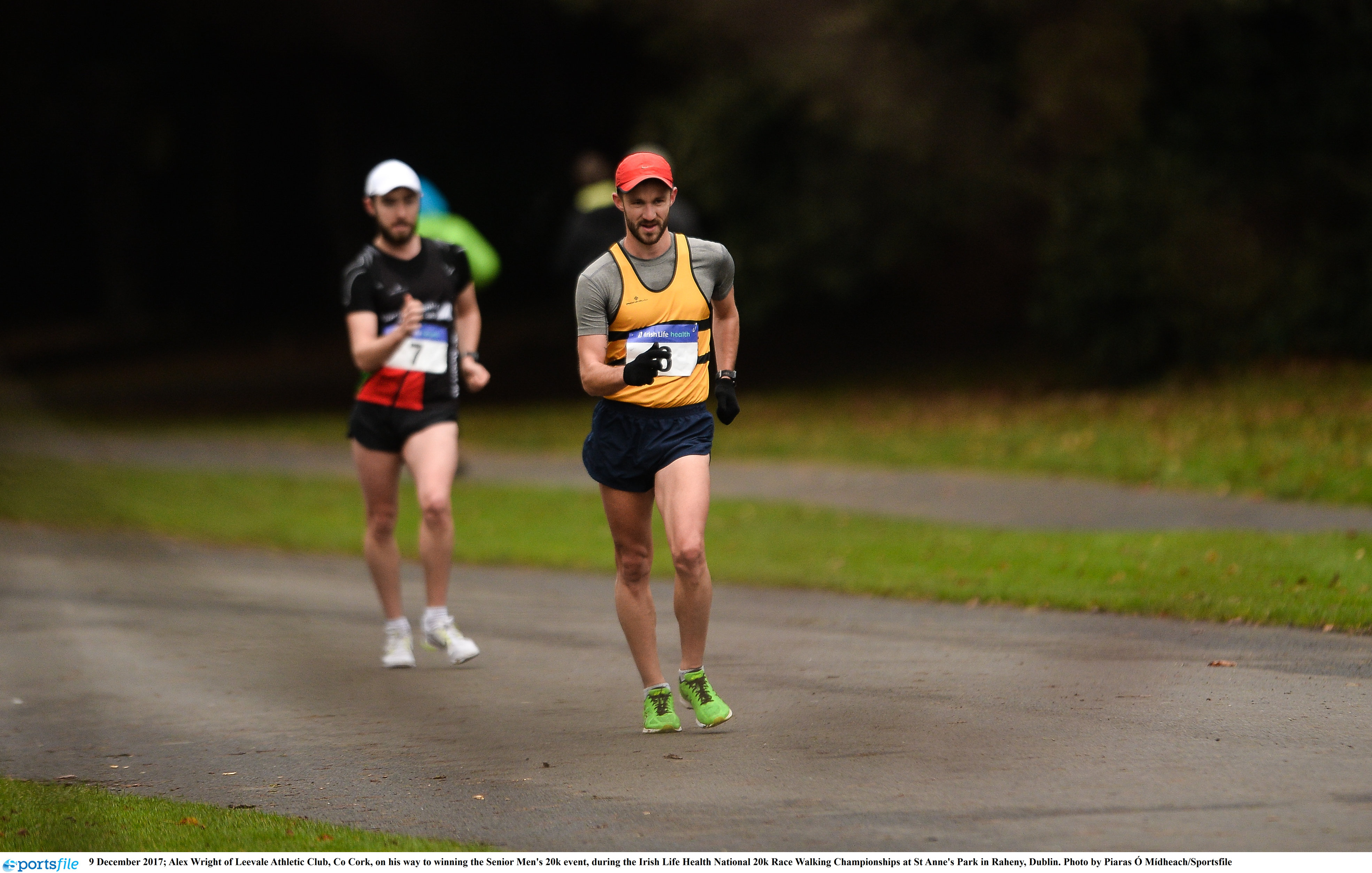 Gearing up for the National Race Walking Championships this weekend