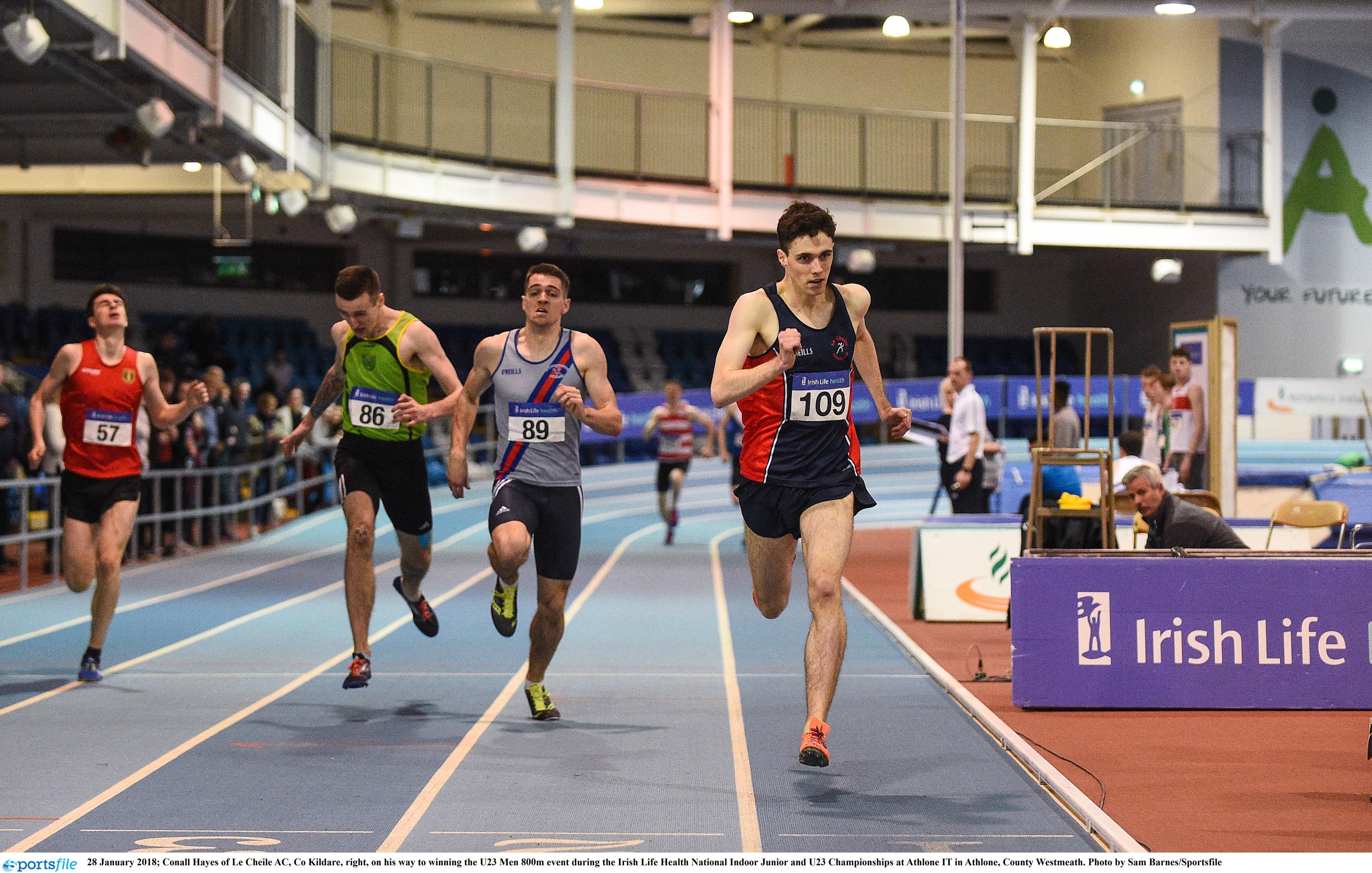 Irish Life Health Junior and U23 Indoor Championships 2019