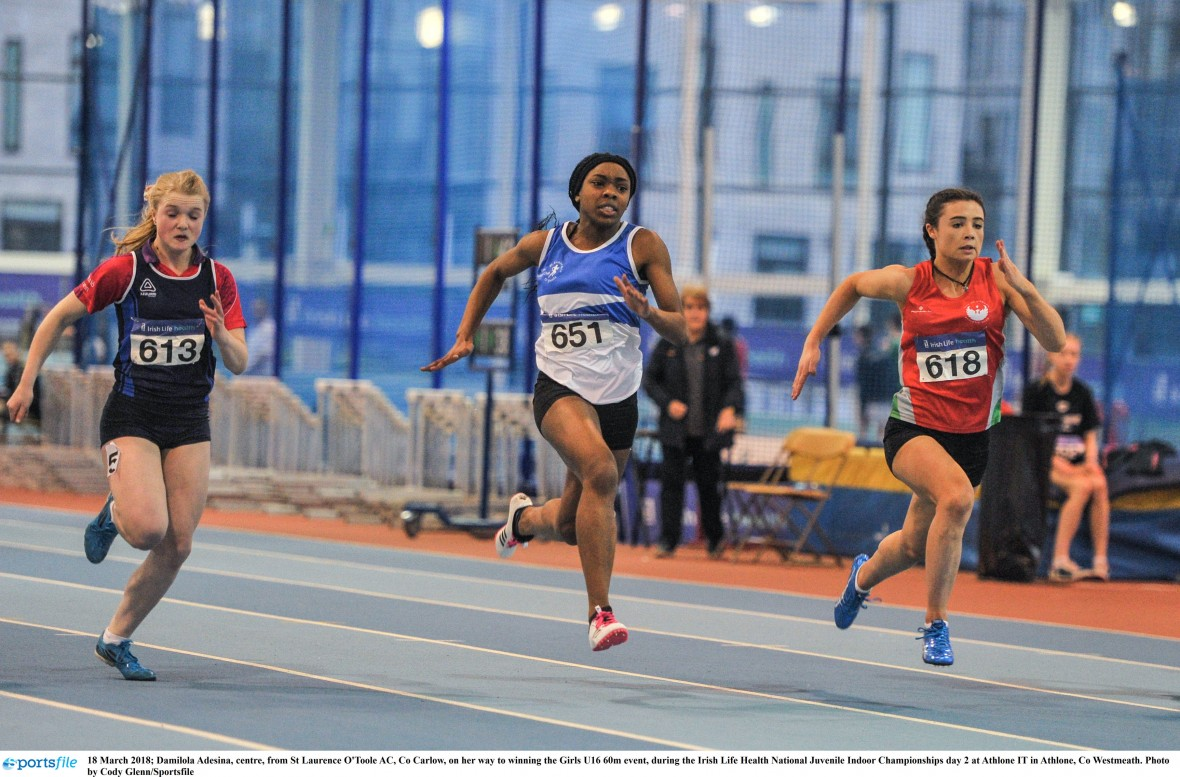 Provisional Entry List for the Juvenile Indoor Championships Day 3