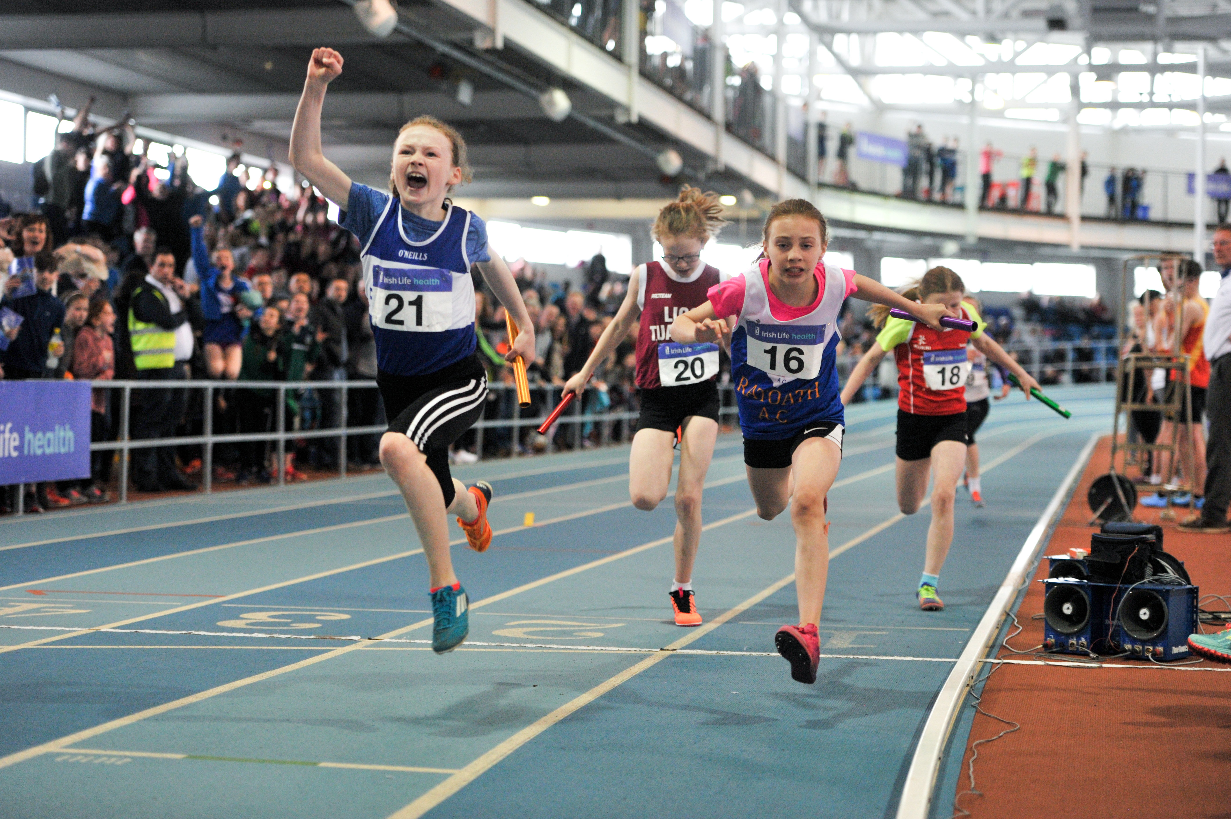 The Entry Lists for the National Juvenile Indoors are now available online