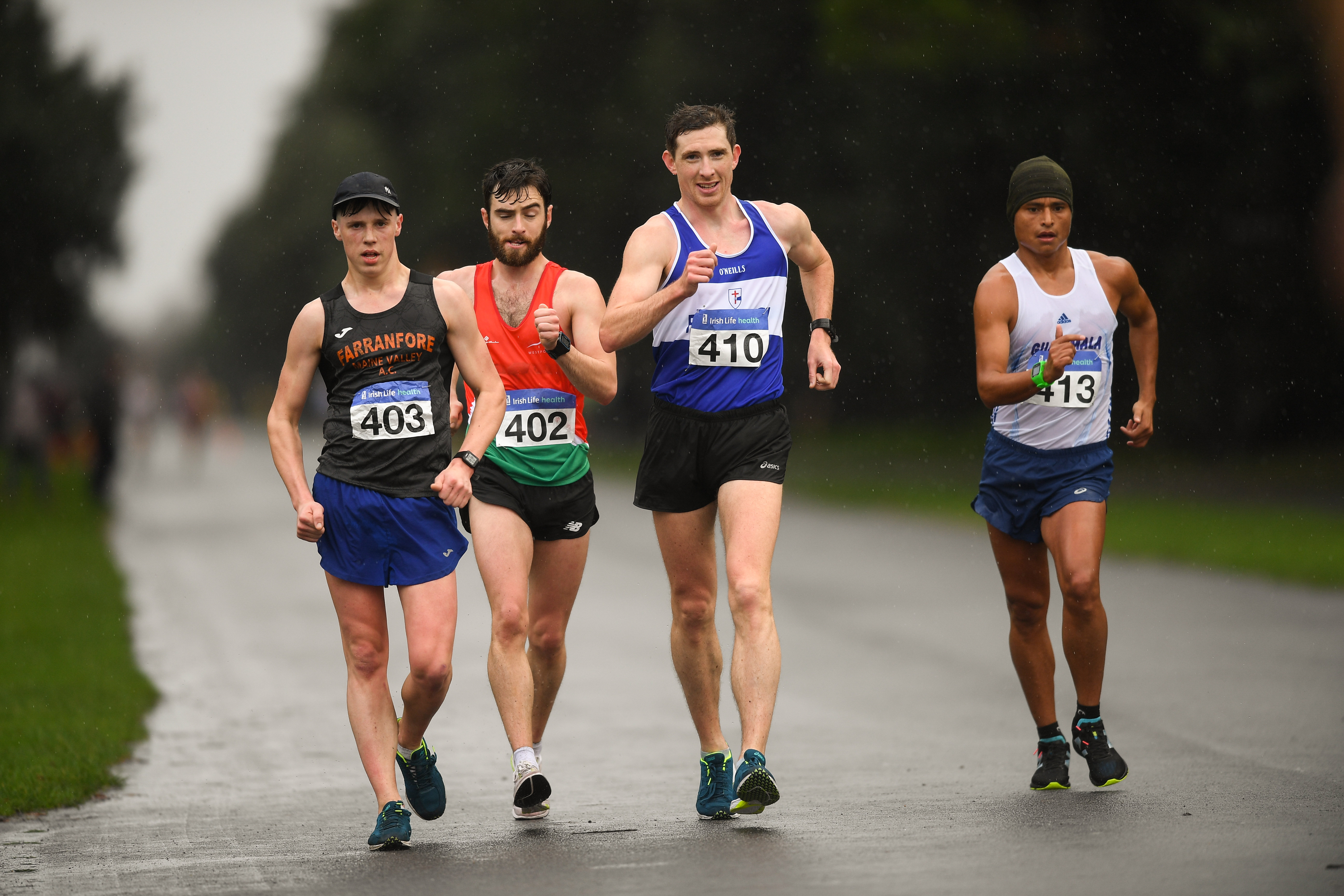 Brendan Boyce does the double at the Race Walking Championships in Raheny