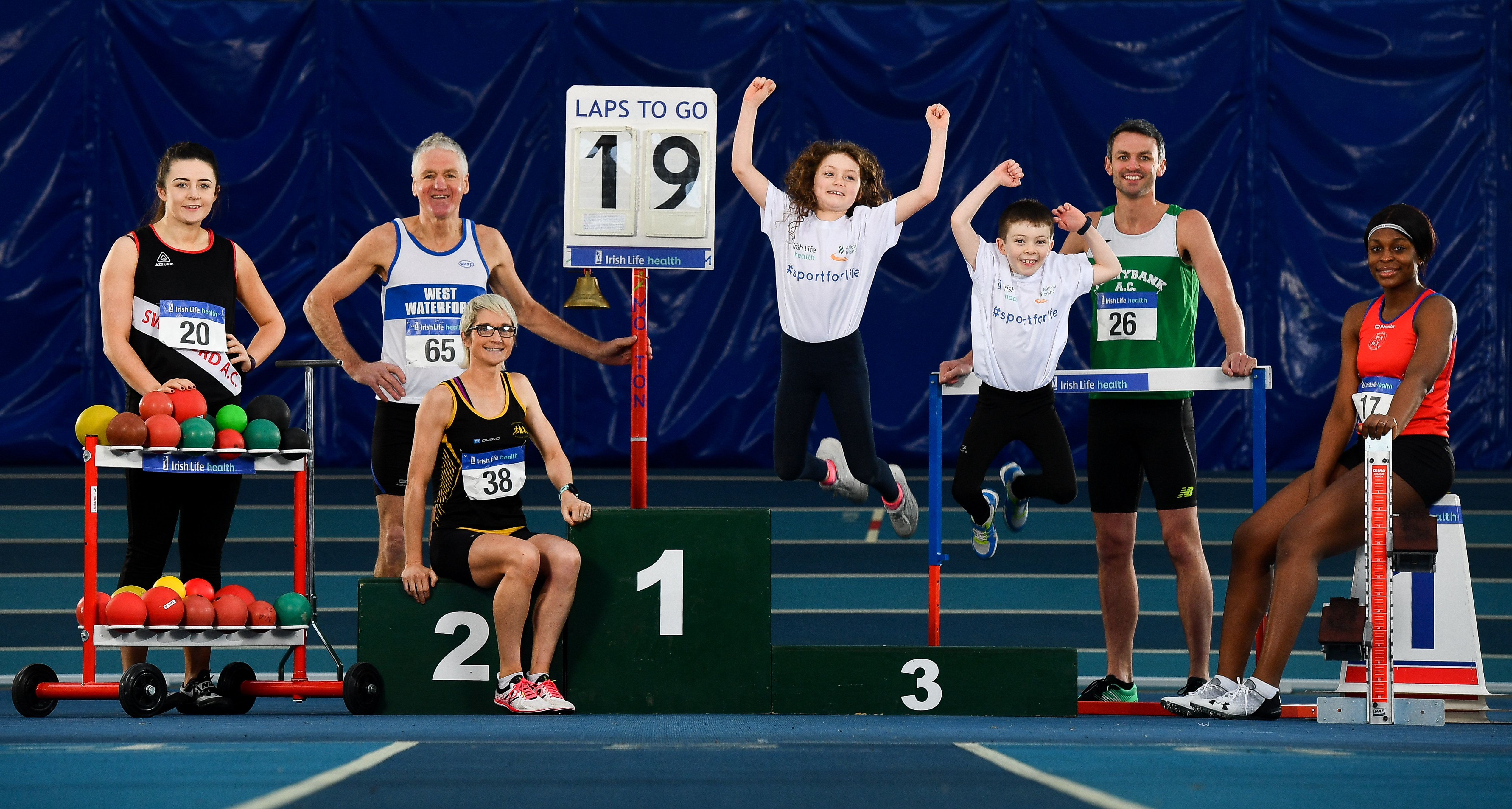 Irish Life Health backs Athletics delivering Health & Lifelong Activity