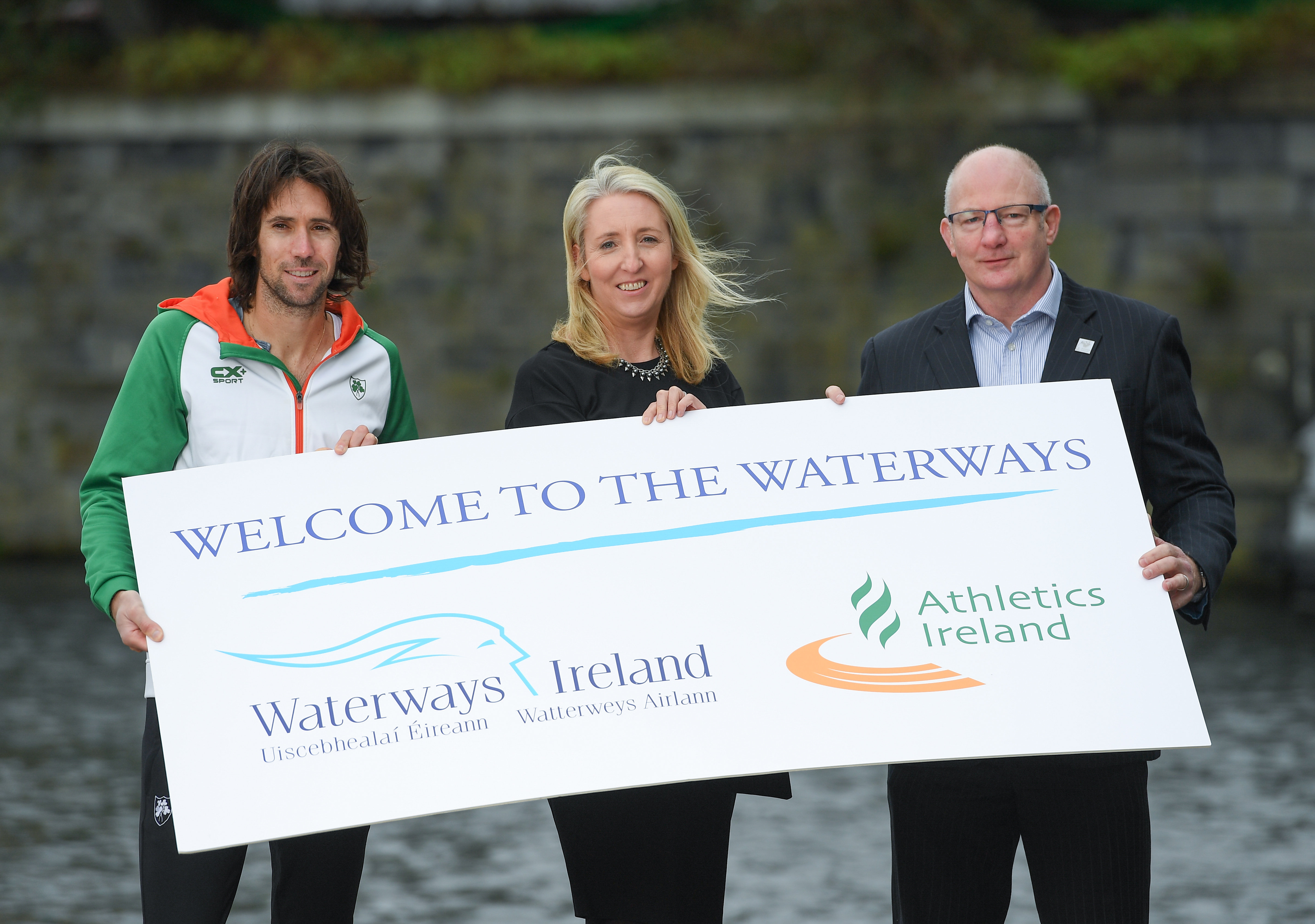 Athletics Ireland and Waterways Ireland Launch Strategic Partnership