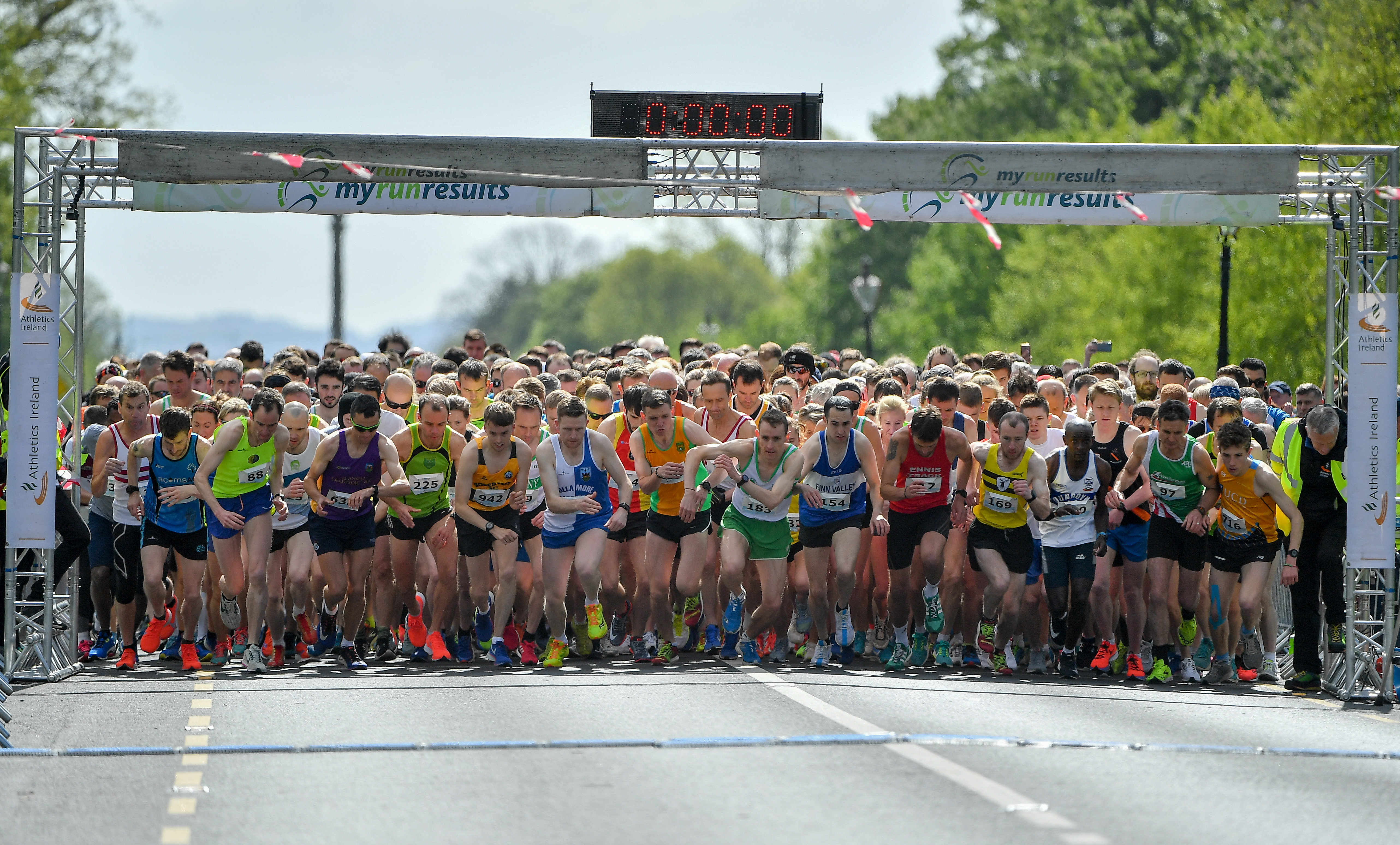 Samba storms to Irish Runner 5K as National Titles go to Kelly and McKiernan.