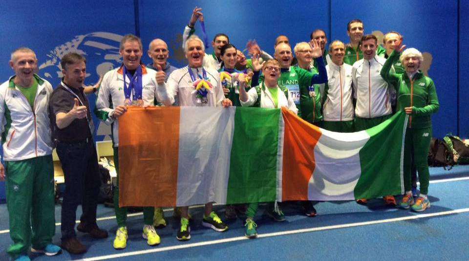 Masters magnificent medal haul at World indoors
