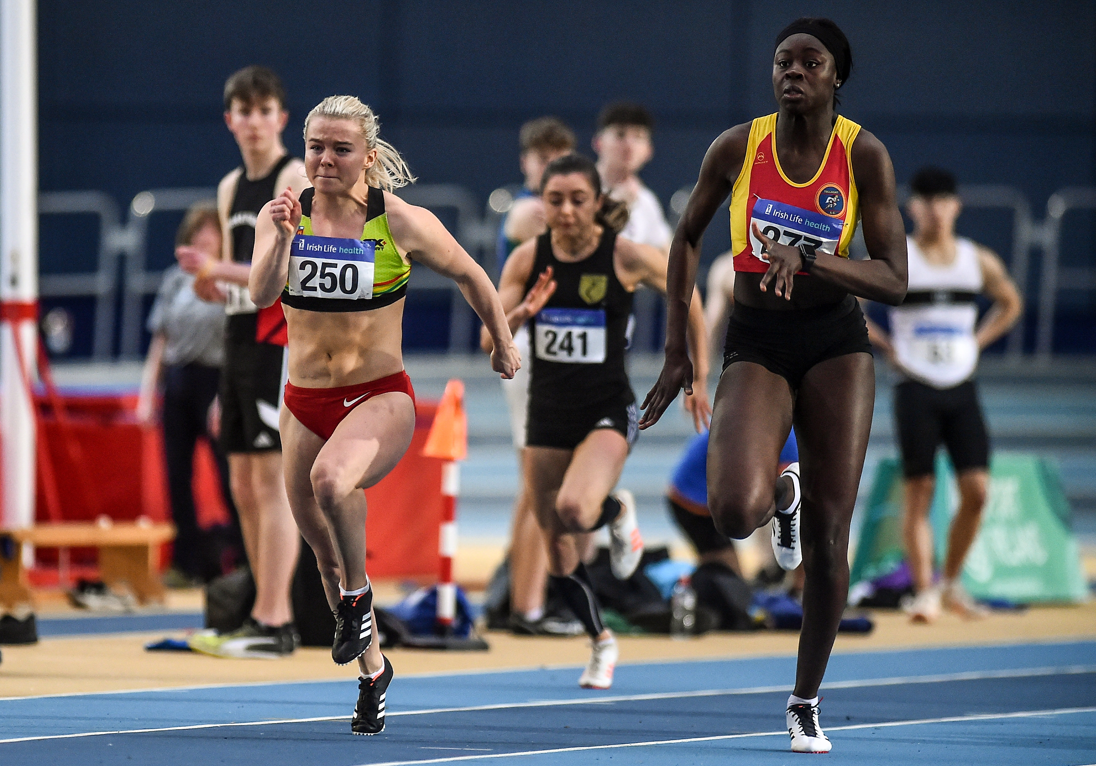 Healy sparkles at National Indoor League Round 1
