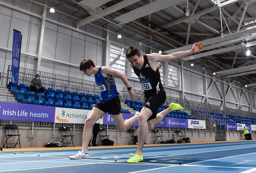 Bumper Irish team selected for European Indoors