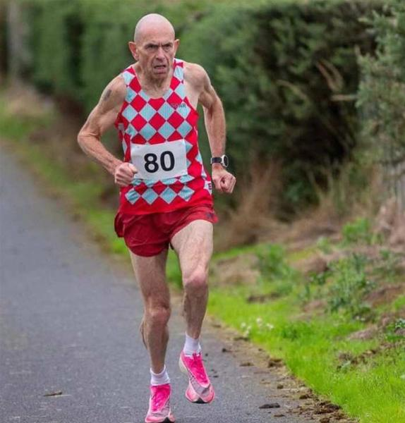 Tommy Hughes Sets New Marathon Record
