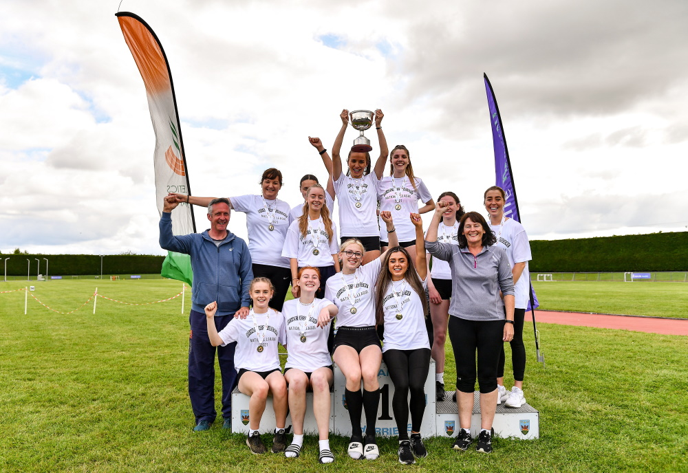 Kildare County and Clonliffe Harriers secure National Premier League titles