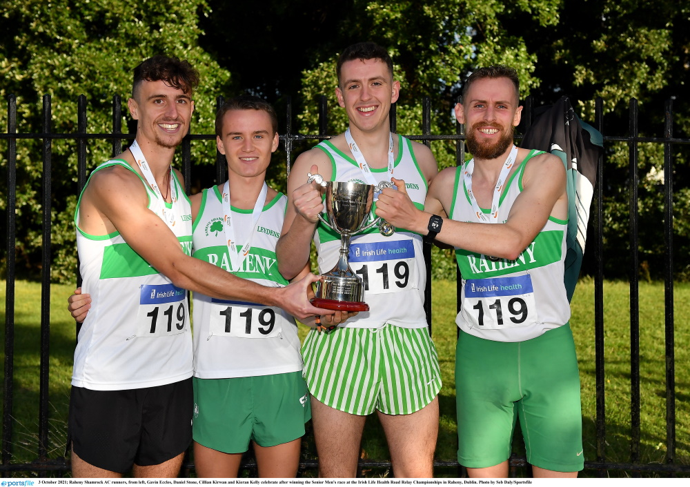 Raheny roadsters shine a National Road Relay Championships