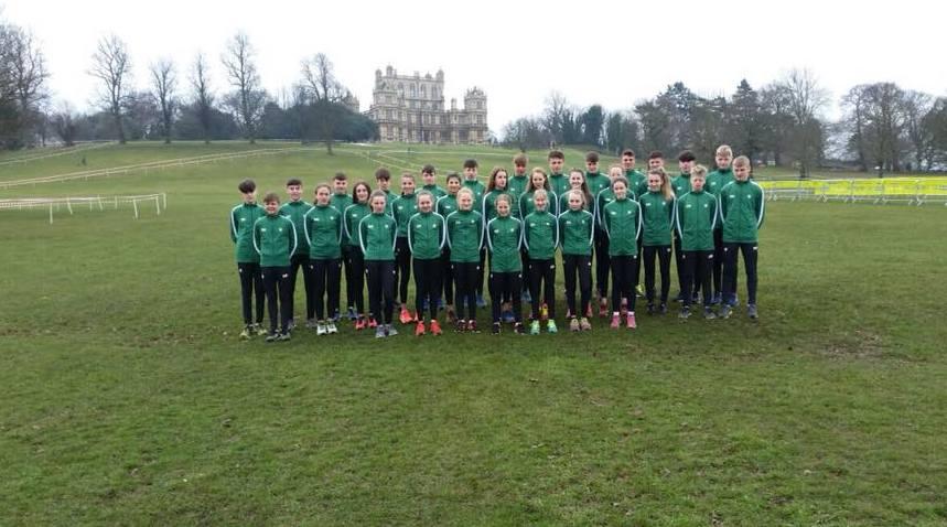 Medals in Nottingham for Irish Schools team