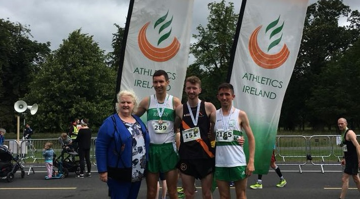 Flynn and Clifford storm to National 10 Mile Titles