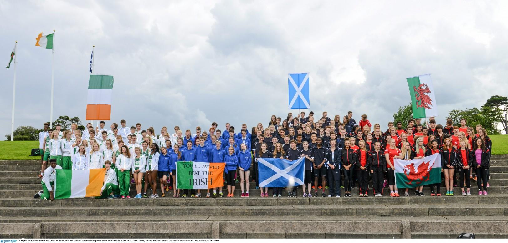 Celtic Games Team Announced 2017