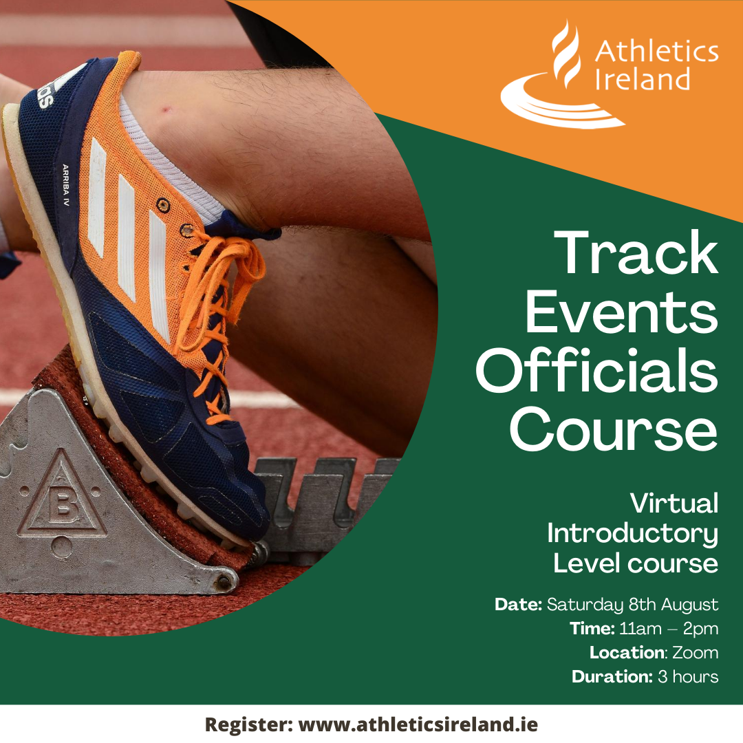 Virtual Intro Level Officials Course- Track Events including Race Walking