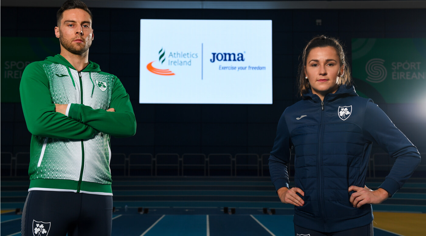 Athletics Ireland announce new sponsorship deal with Joma Sport