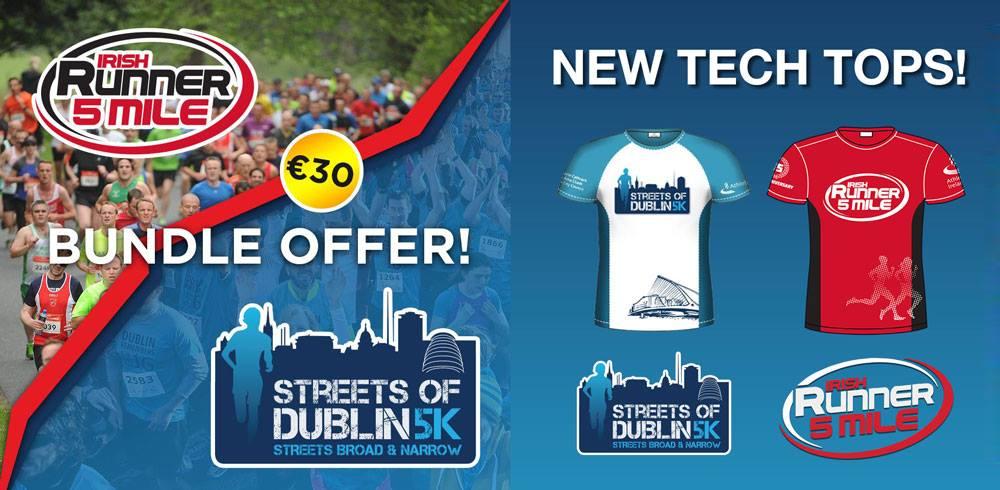 Bundle Offer - Streets of Dublin & Irish Runner 5 Mile