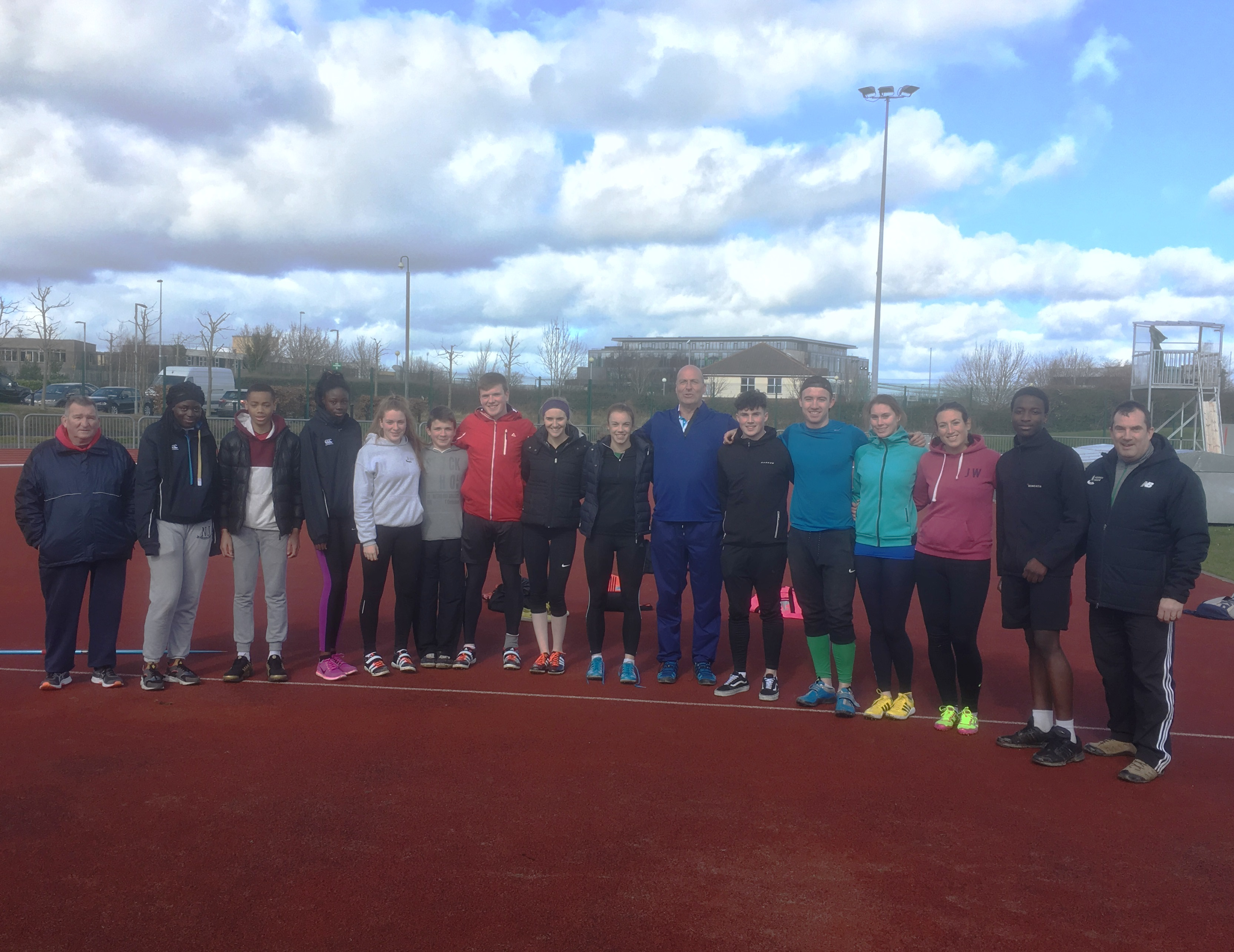 Combined Events Squad Meet Up