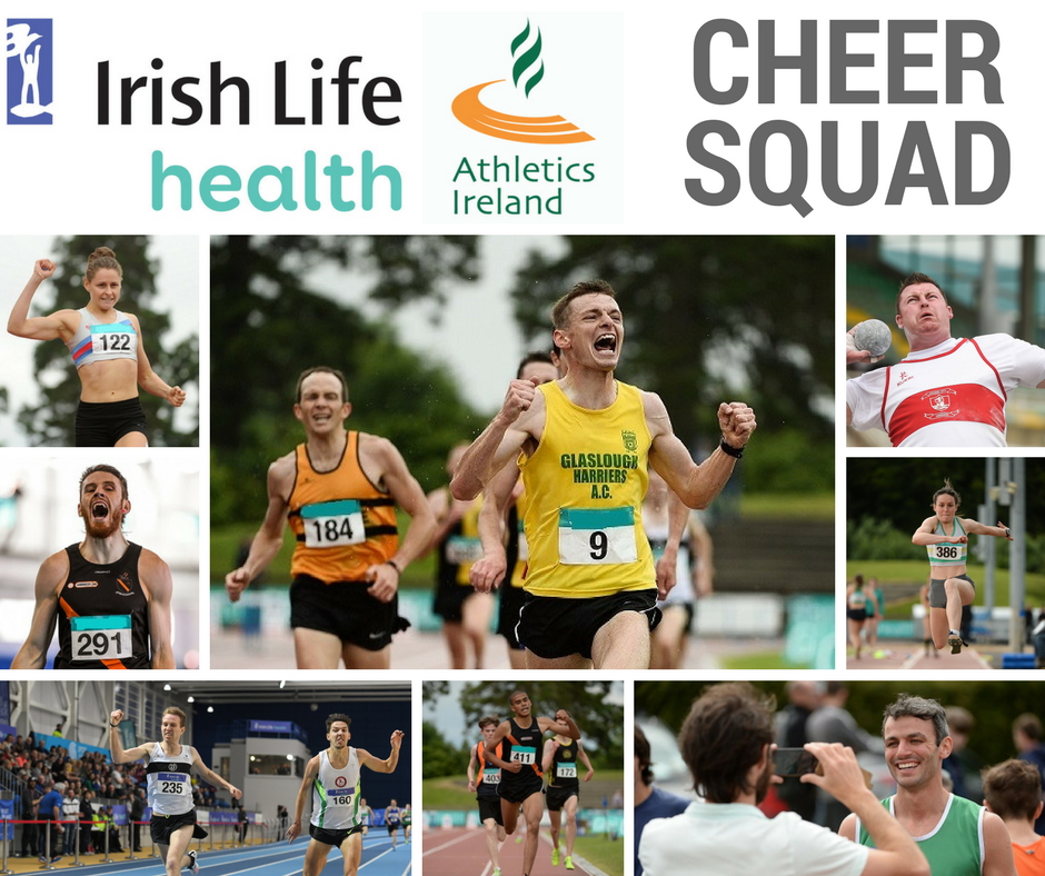 Do you want to win €1000 worth of Athletics Equipment for your Club from Irish Life Health?