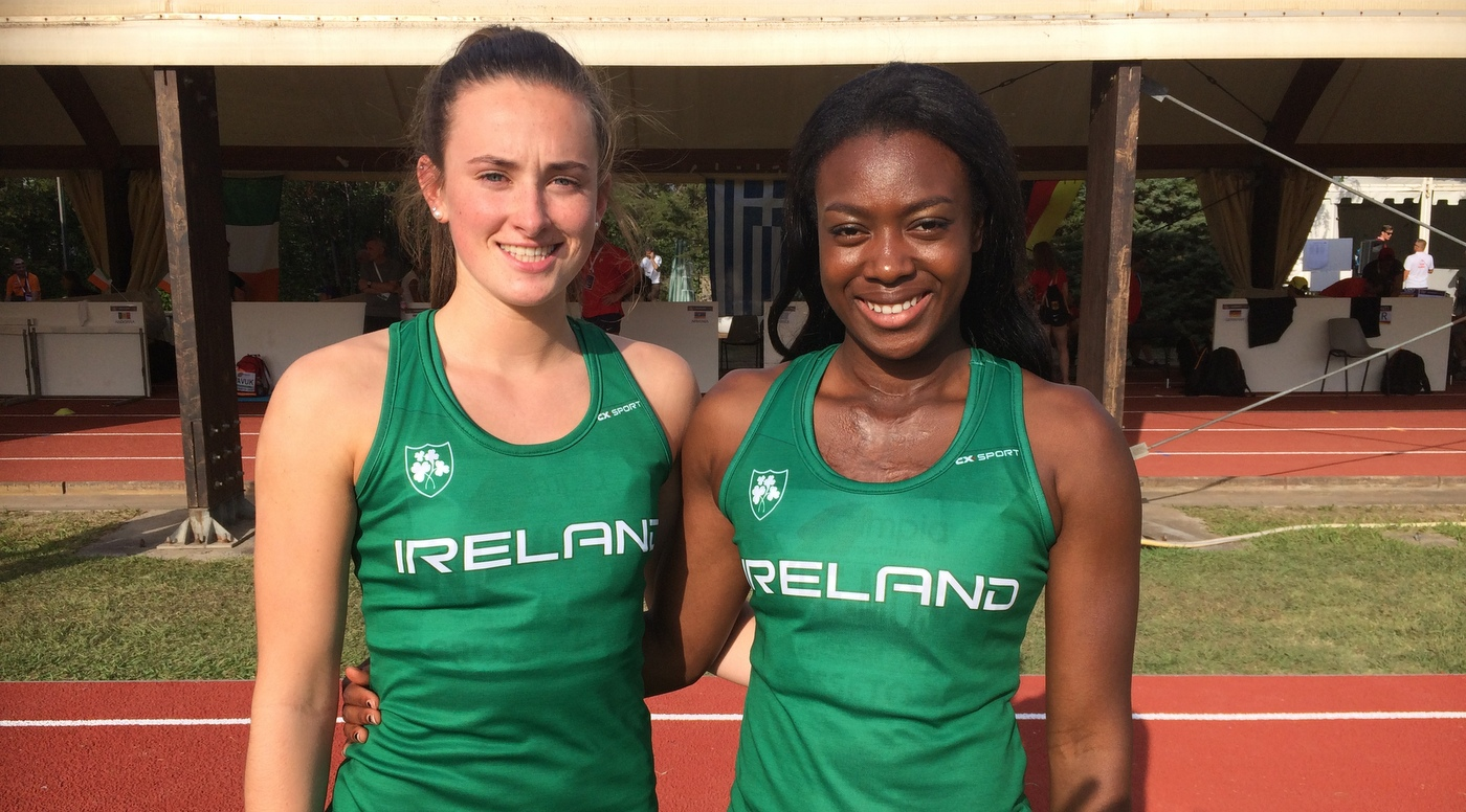 Akpe-Moses and Neville sprint to European final