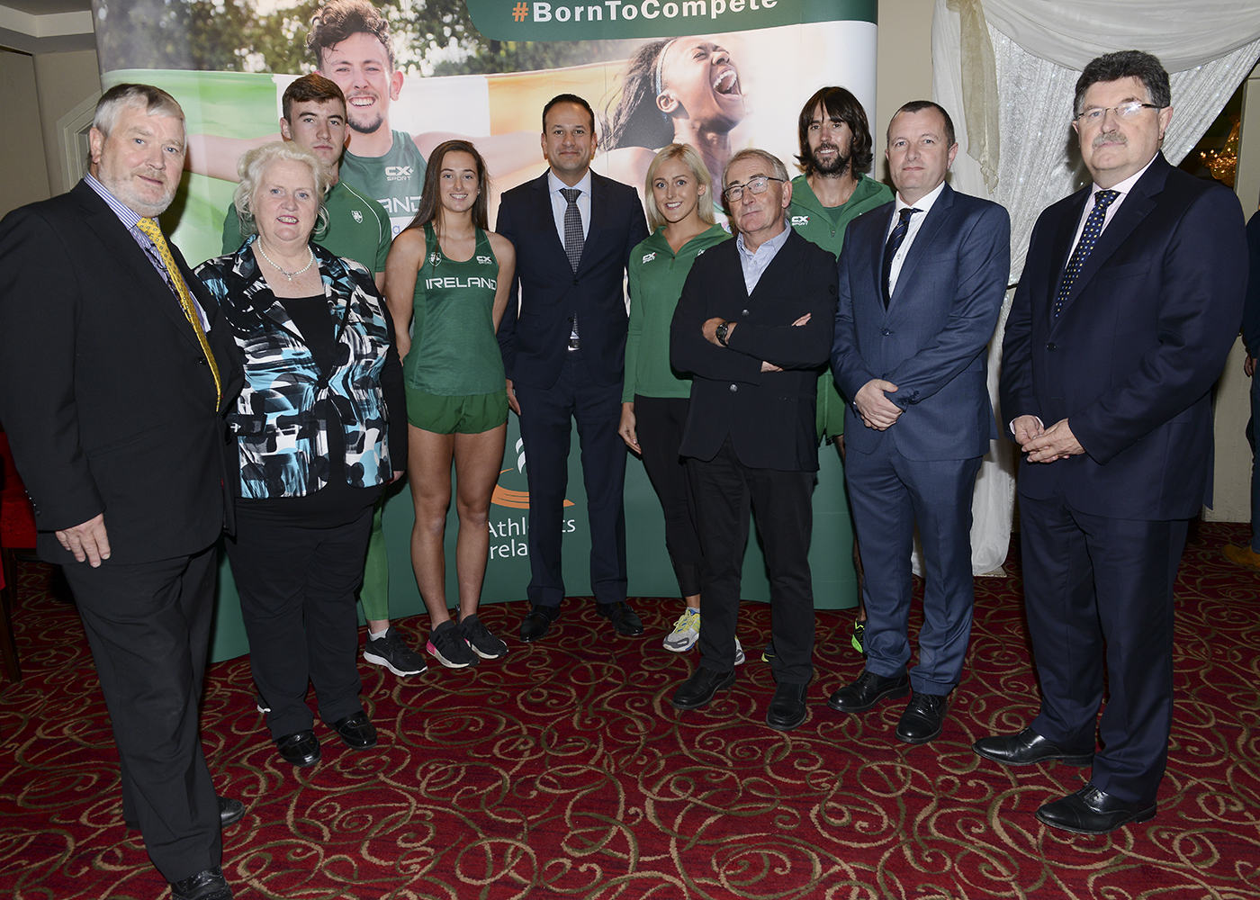 Taoiseach launches CX+ Sport's partnership with Athletics Ireland