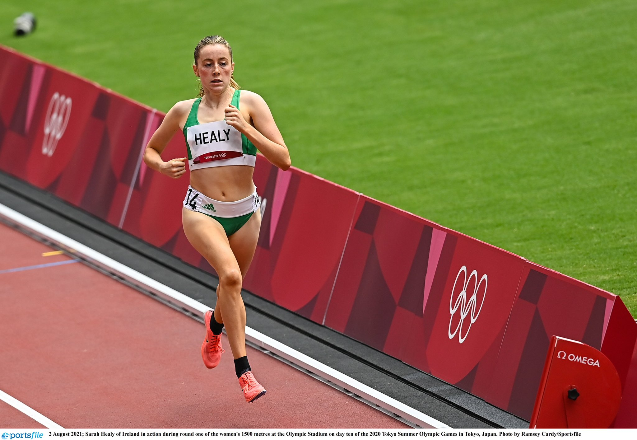 NEW U23 3,000M RECORD FOR SARAH HEALY