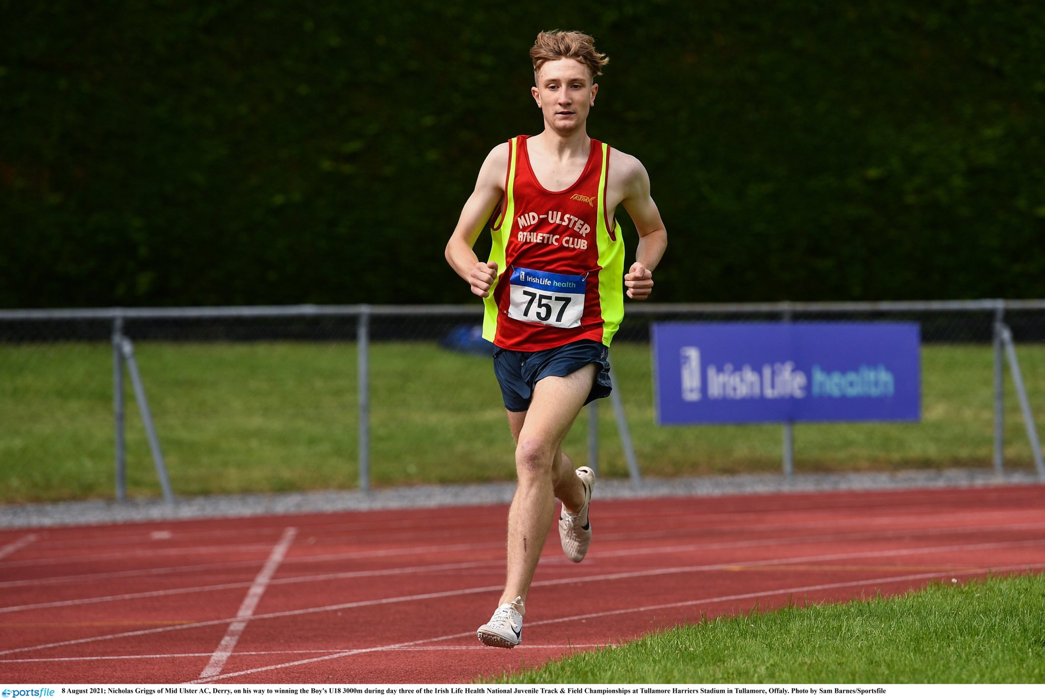 Griggs produces golden performance in Tullamore