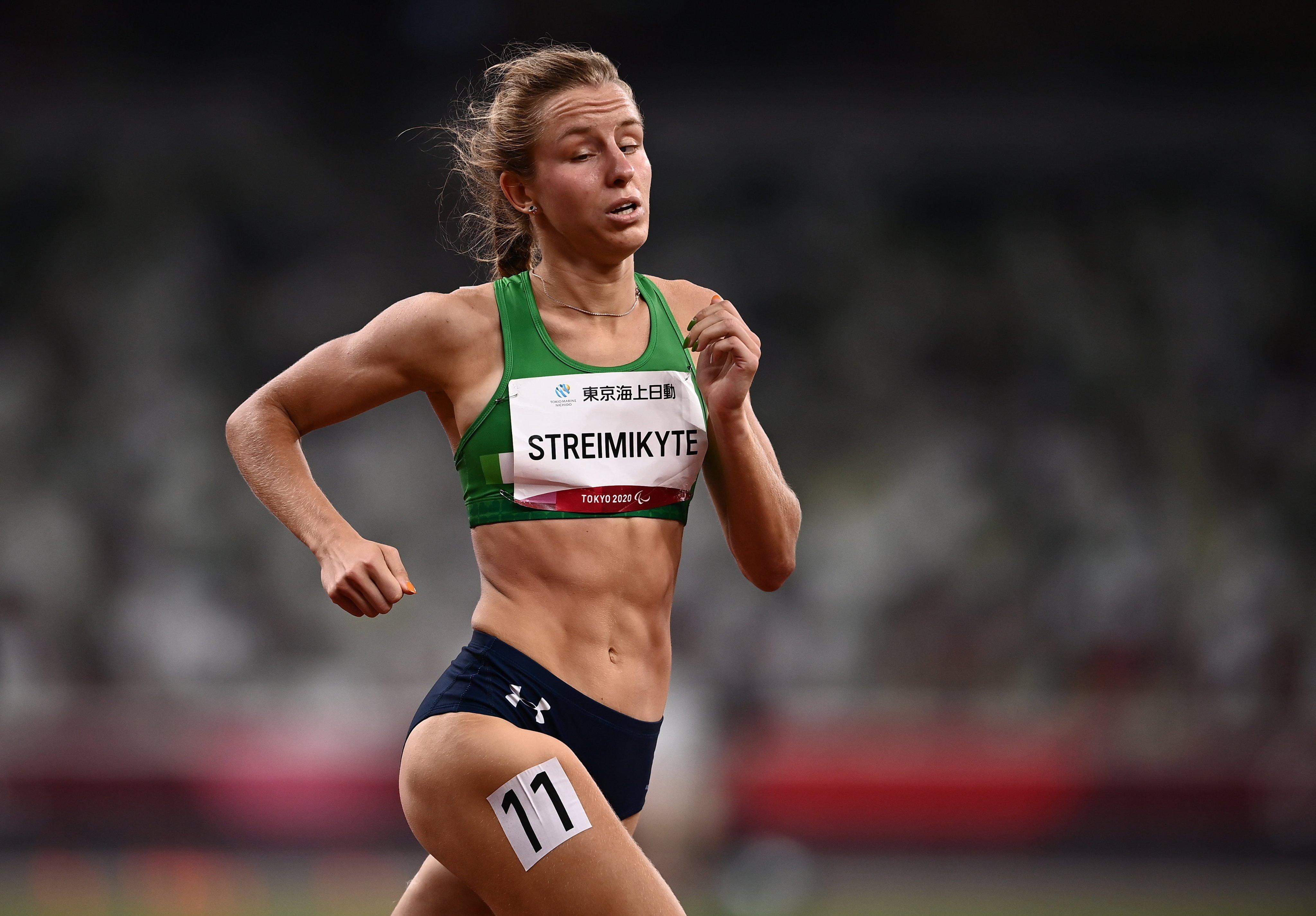 Streimikyte Battles to 5th Place Finish