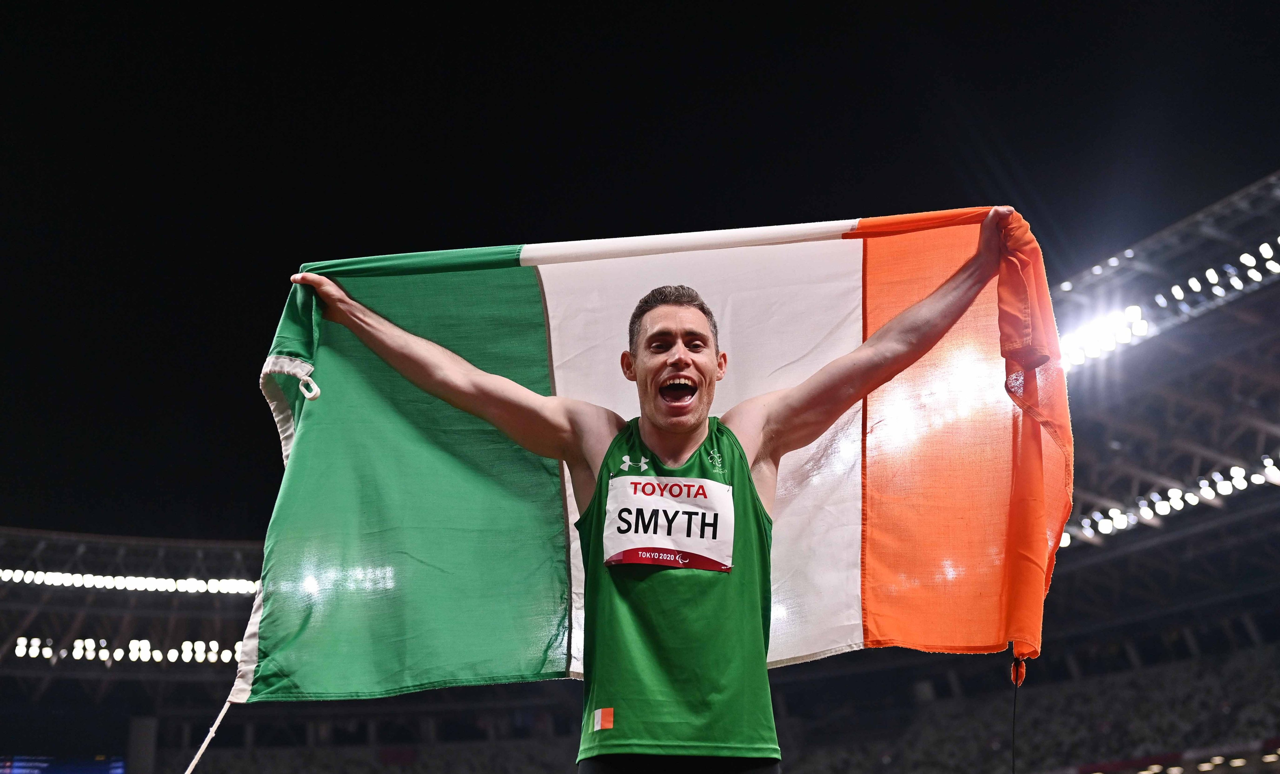 Smyth is the Paralympic Champion