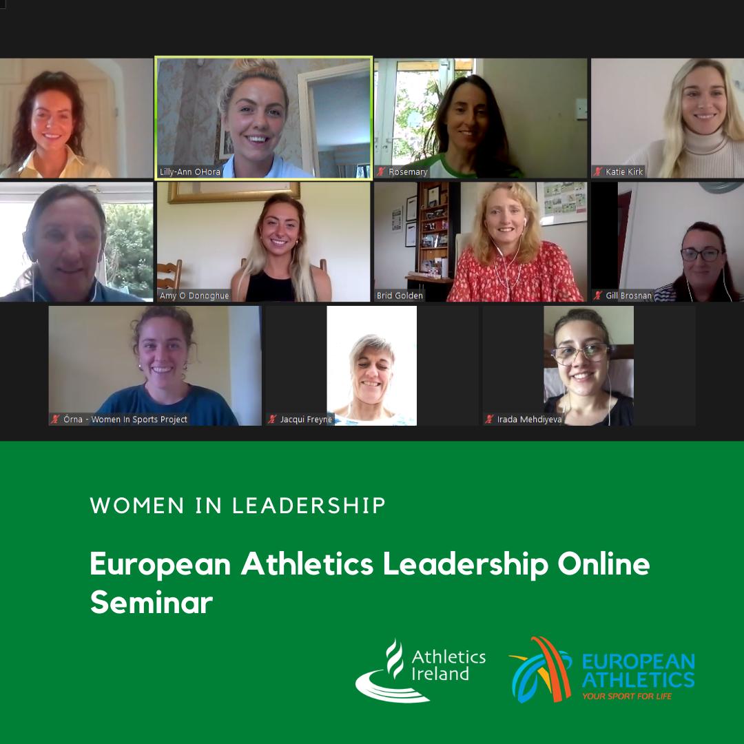 European Athletics Female Leadership Online Seminar Project