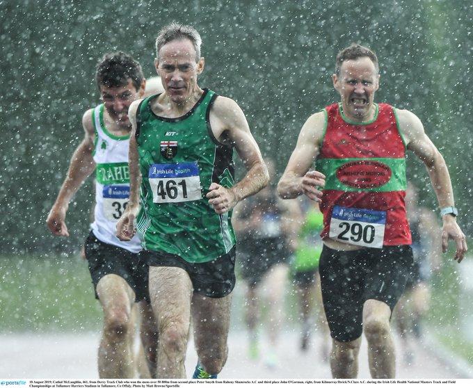 Medals Galore at Irish Life Health Masters