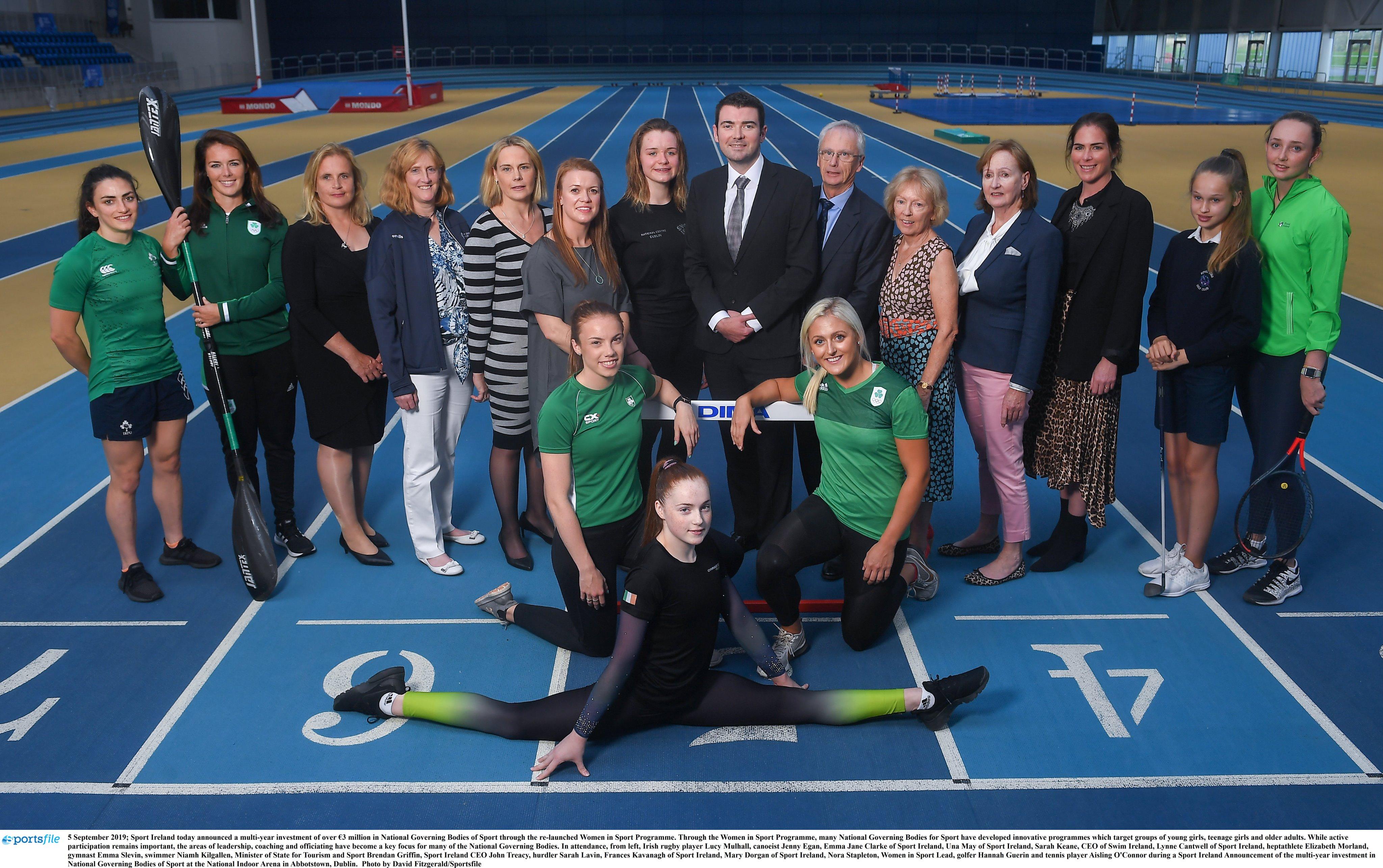 Sport Ireland Announces €3 Million Investment in Women in Sport