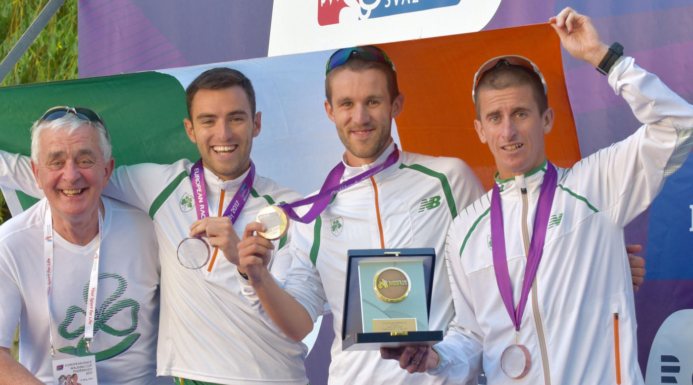 Irish men create history with bronze at European Cup