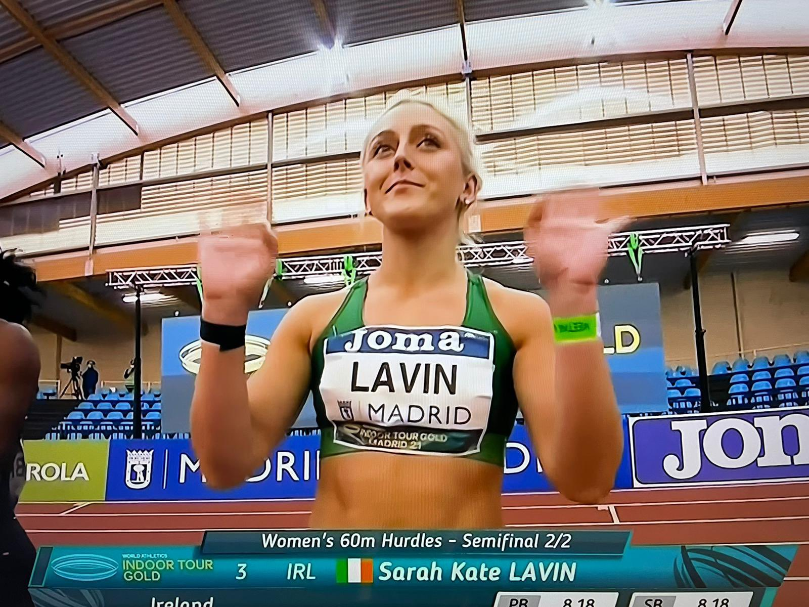 Lavin lowers PB as Power back on podium