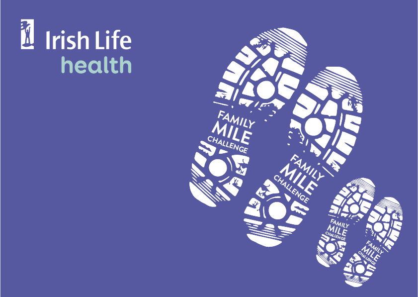 Olympians Thomas Barr and Lizzie Lee Launch the Irish Life Health Family Mile Challenge
