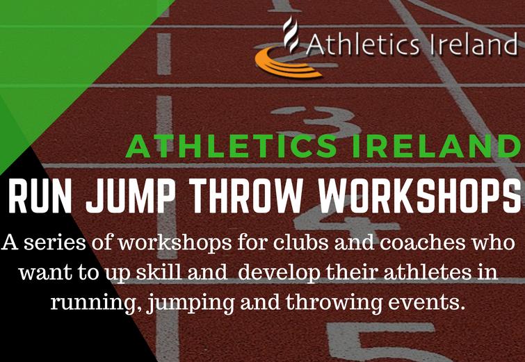 Run, Jump, Throw Workshops Galway