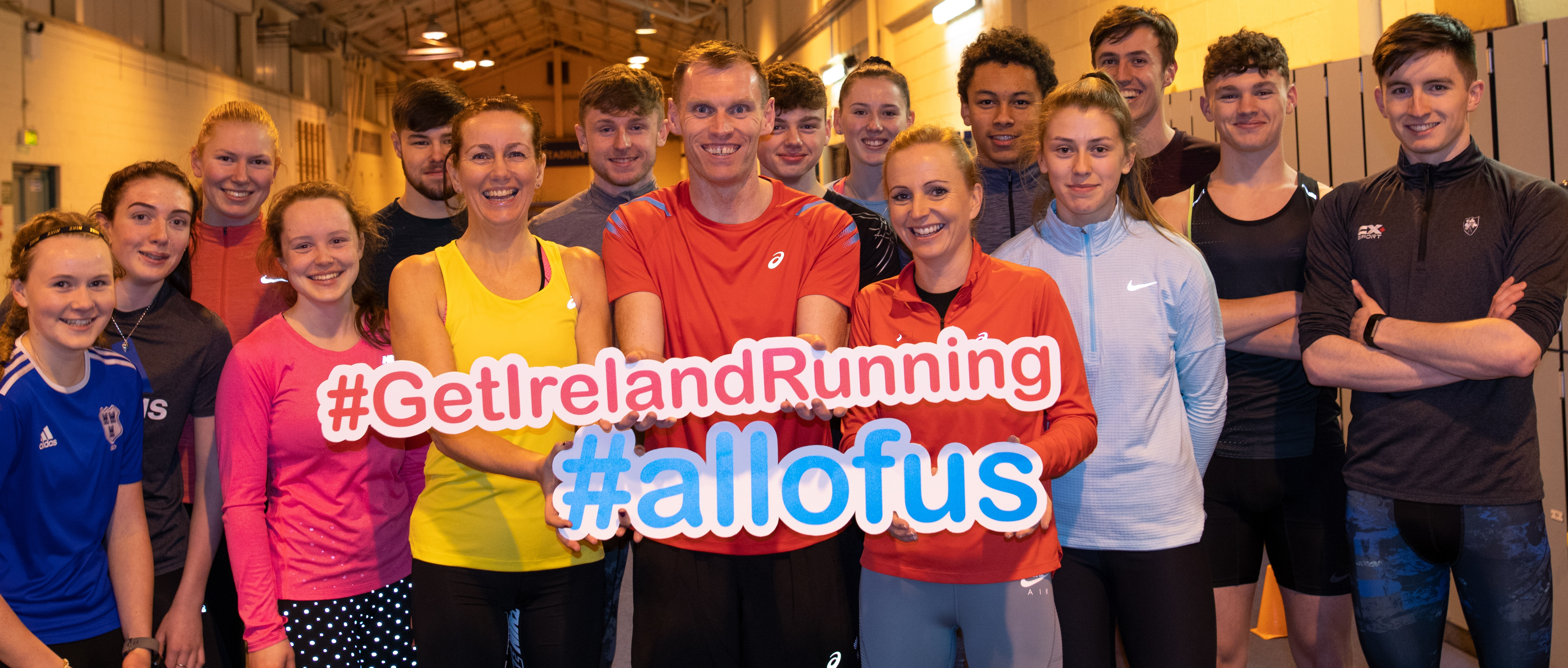 Launch of Get Ireland Running Campaign