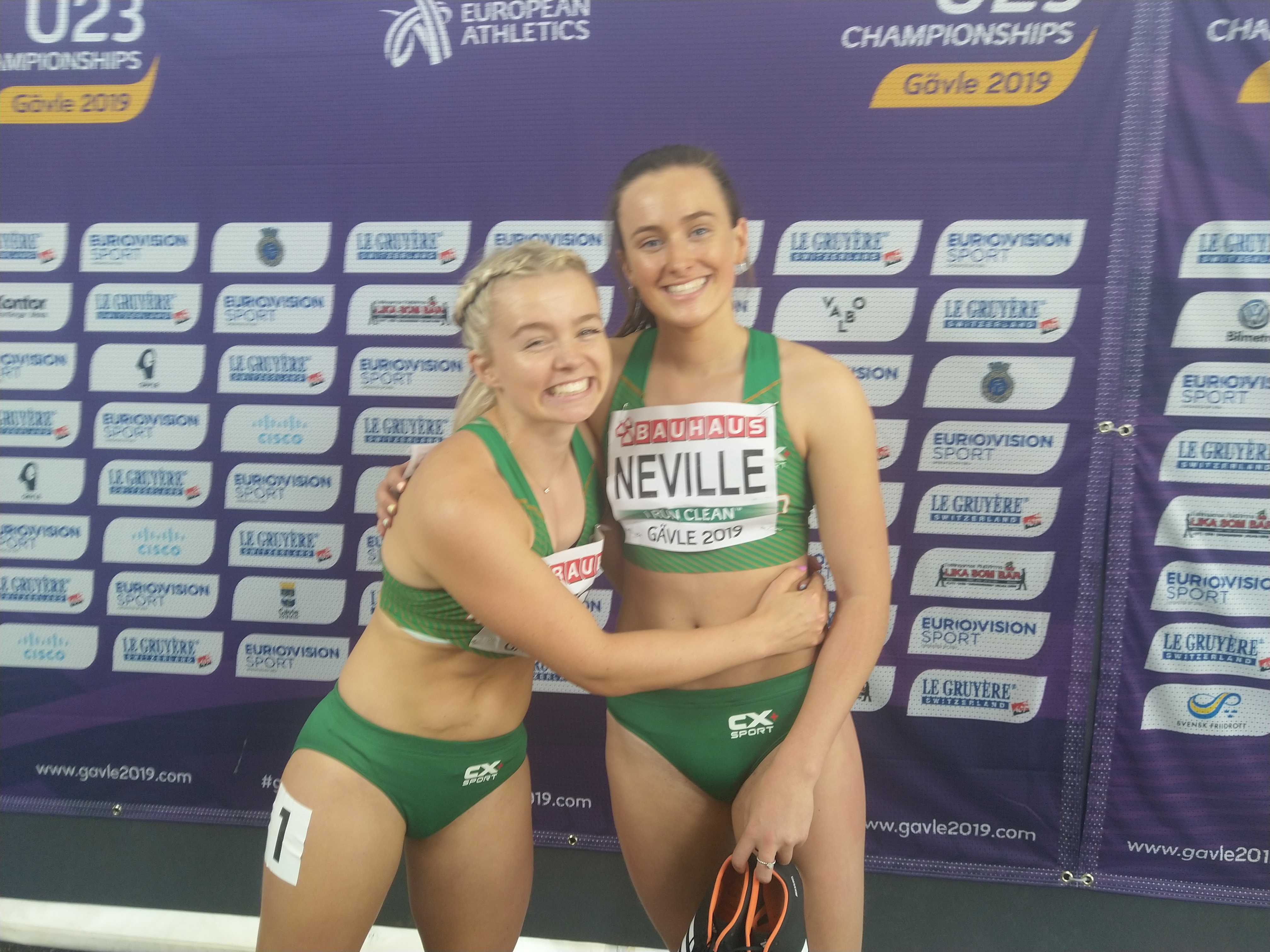 Neville a fighting fifth on another great day for the Irish