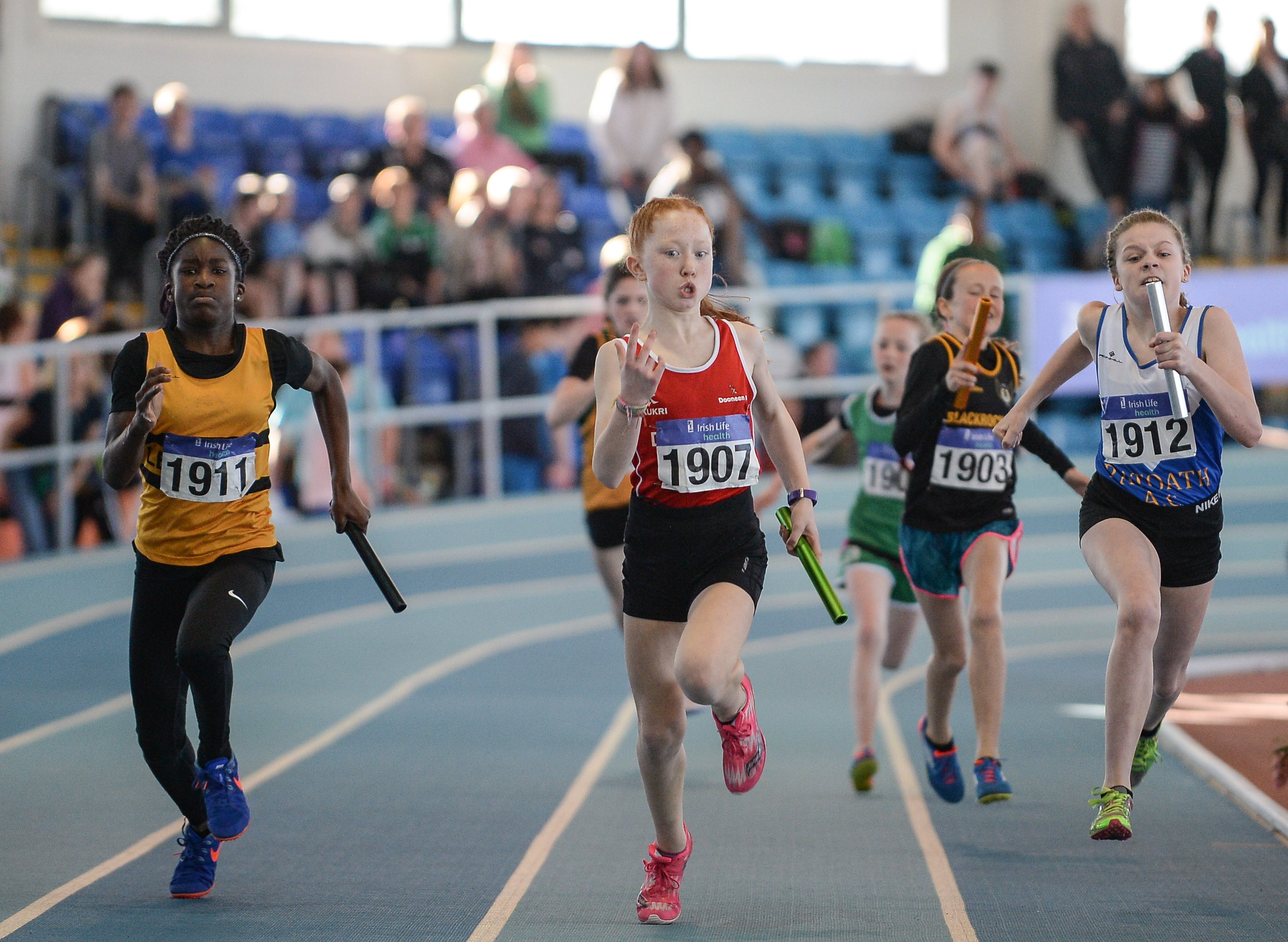 Irish Life Health National Juvenile Indoor Champs Day 1 Rescheduled