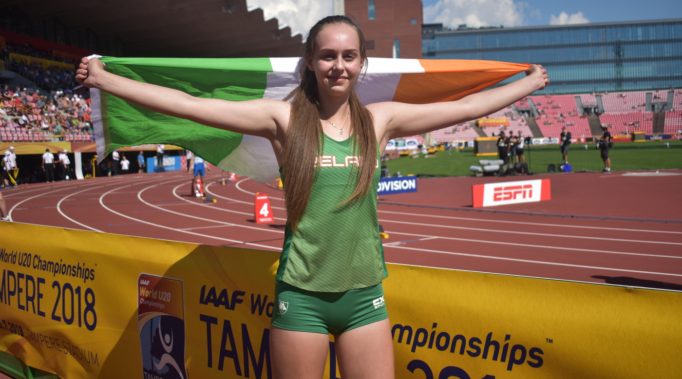 Lecky soars to world silver