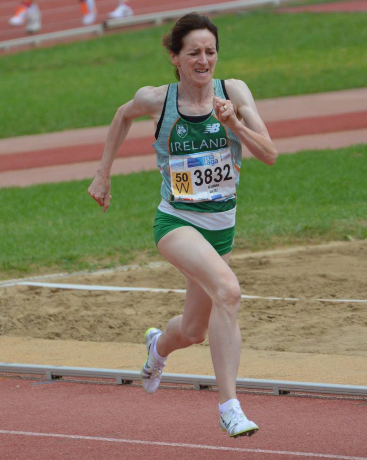 Anne Gilshinan World Female Master Middle Distance Athlete of the Year