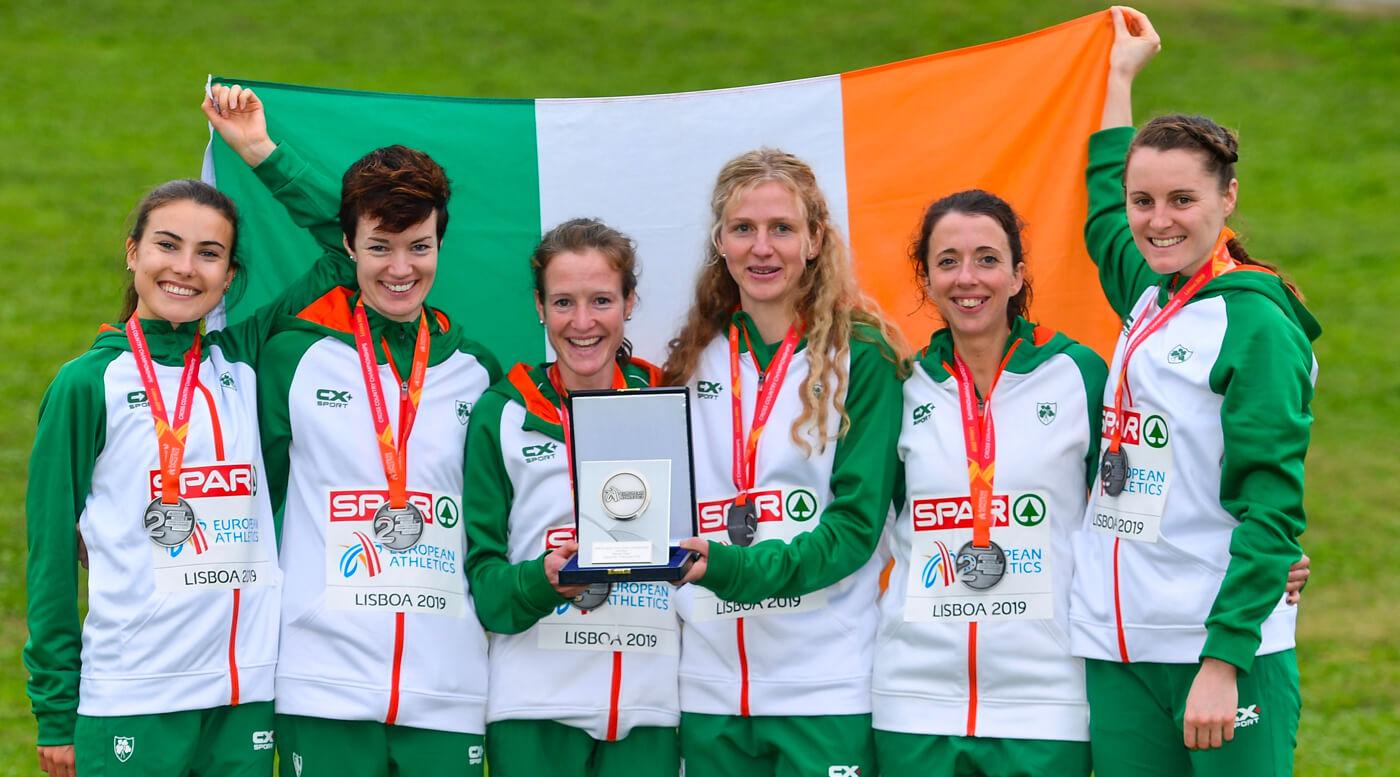 Medal mania for Ireland at Euro Cross