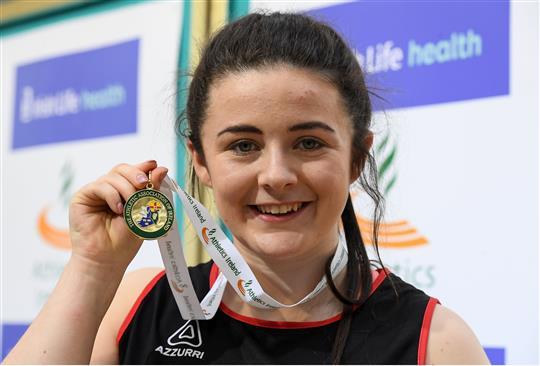 Michaela Walsh Smashes Irish Junior Hammer Record