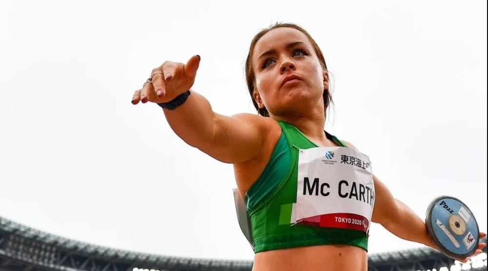 McCarthy fifth in discus final